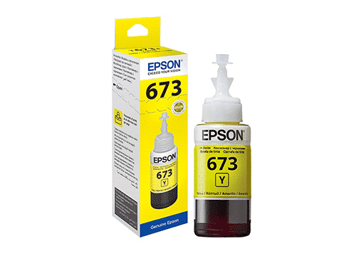 Epson T6734 Yellow Ink Bottle 70 ml