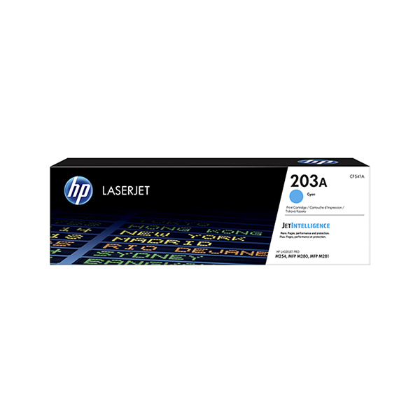 HP 203A Cyan Toner LaserJet (CF541A)
