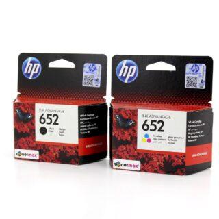 HP 652 Black Ink Cartridge (F6V25AE)