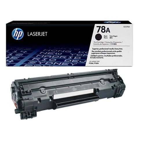 HP 78A Black Toner LaserJet Cartridge (CE278A)