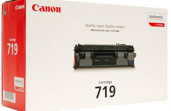 Canon 719 Black Original Laser Toner Cartridge