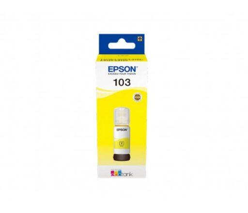 Epson 103 EcoTank Yellow Ink Bottle 65 ml