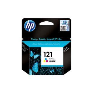 HP 121 Tri-color Ink Original Cartridge, (CC643HE)
