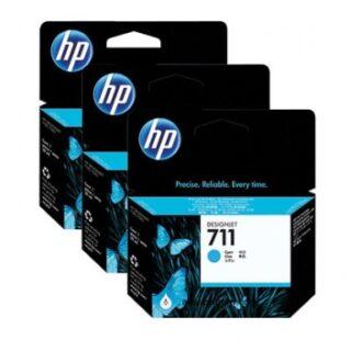 HP 711 Cyan Ink Cartridge 38ml Genuine CZ132A