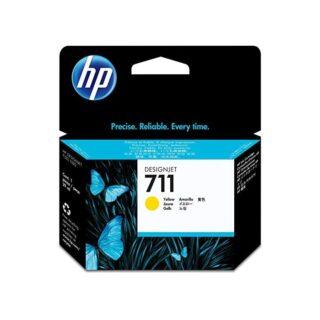 HP 711 Yellow Ink Cartridge 38ml Genuine CZ132A