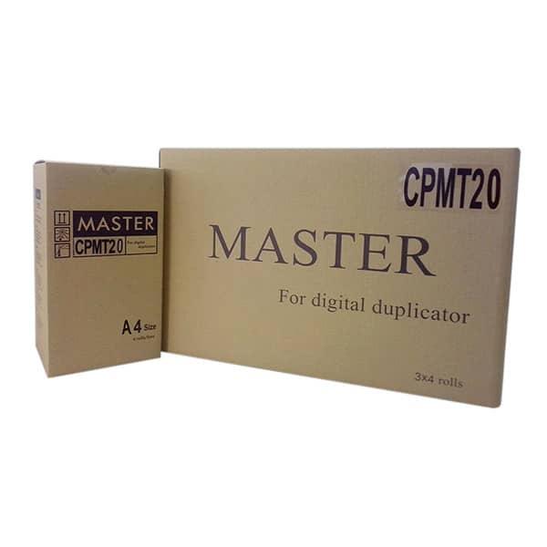 Gestetner CPMT20 Duplicator Master Paper