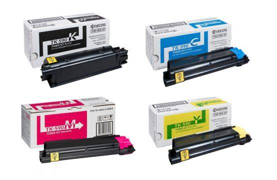 Kyocera TK-590 4Colour Toner Cartridge Multipack