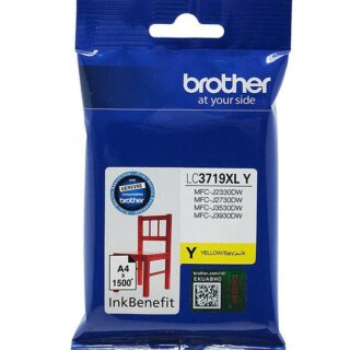 Brother Ink Yellow LC3719XL Cartridge Color Original