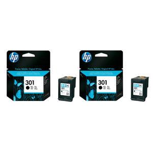 HP 301 Black Cartridge Original Ink