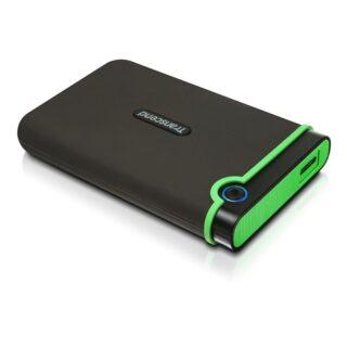 TRANSCEND Storejet 25M3 2TB USB 3.1 External Hard Drive Grey