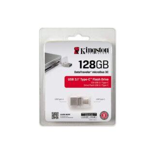 Kingston Digital 128GB Data Traveler MicroDuo USB 2.0 micro USB