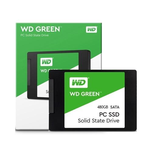 """WD 480GB Green SATA III 2.5"""" Internal SSD WDS480G1G0A"""