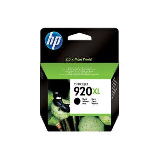 HP 920XL Black Cartridge High Yield Original Ink (CD975AA)