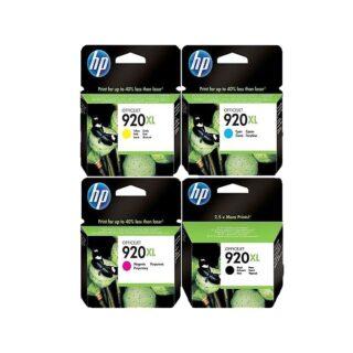 HP 920XL Multipack Ink Cartridges BK/C/M/Y Original