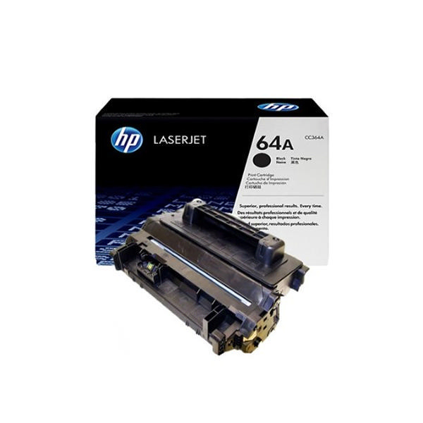 HP 64A Black Toner Original LaserJet Cartridge (CC364A)