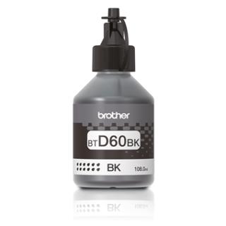 Brother BT-D60 BK Black High Yield Ink Bottle